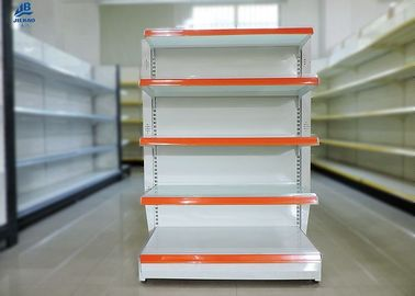 Sistemas brancos do shelving do supermercado do shelving da loja/OEM