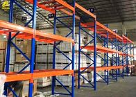 China Shelving resistente high-density da cremalheira da pálete, sistema resistente do racking da cor azul empresa